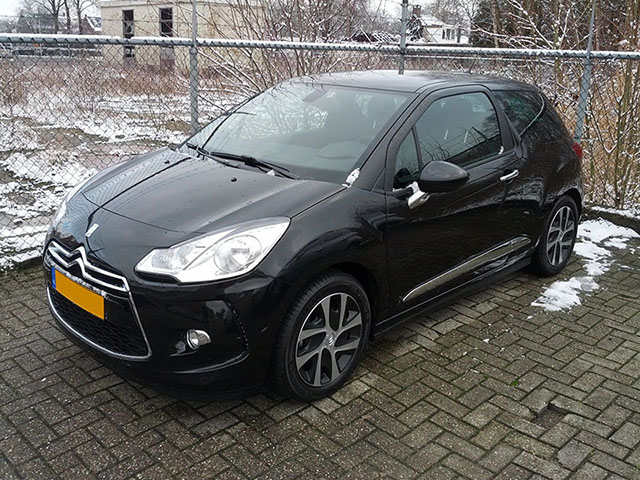 citroen gespot gepost ds 3. Black Bedroom Furniture Sets. Home Design Ideas